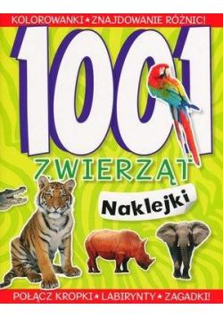 1001 zwierząt Naklejki