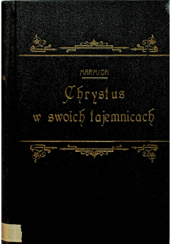 Chrystus w swoich tajemnicach 1923 r.