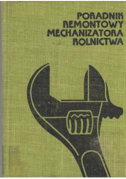 Poradnik remontowy mechanizatora rolnictwa