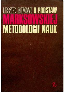 U podstaw marksistowskiej metodologii nauk