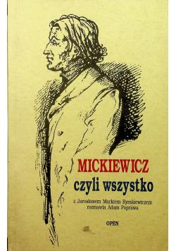 Mickiewicz czyli wszystko