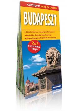 Comfort! map&guide Budapeszt 2w1 mapa w.2019