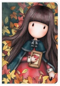 Notes A6 w okładce - Autumn Leaves