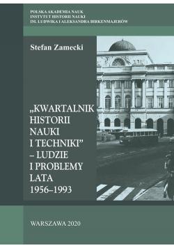 Kwartalnik Historii Nauki i Techniki - Ludzie i problemy