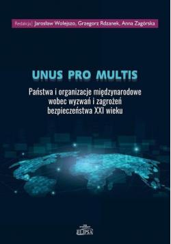 Unus pro multis