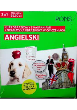 Angielski Obrazkowy kurs i gramatyka w ćwiczeniach