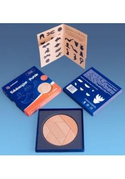 Puzzle drewniane - seria LUNA