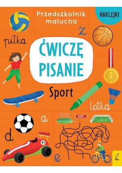 Przedszkolnik malucha Ćwiczę pisanie Sport