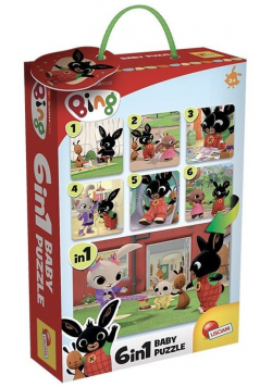 Bing Baby Puzzle 6 w 1