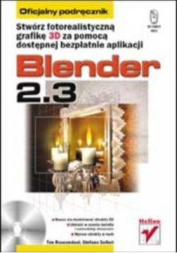 Blender 2 3 Oficjalny podręcznik plus płyta
