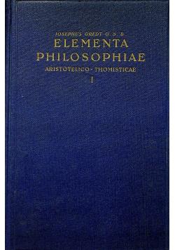 Elementa Philosophiae I 1946 r