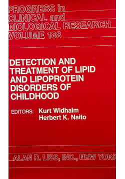 Detection an treatment of lipid and lipoprotein