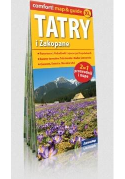 Comfort!map&guide XL Tatry i Zakopane 2w1 w.2019