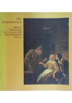 Ars Emblematica Ukryte znaczenia w malarstwie holenderskim XVII w.