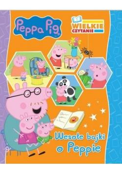 Wielkie czytanie. Peppa Pig. Wesołe bajki o Peppie