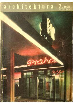 Architktura 7 1959