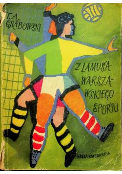 Z lamusa Warszawskiego sportu