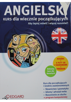 Angielski Kurs dla wiecznie początkujących plus CD