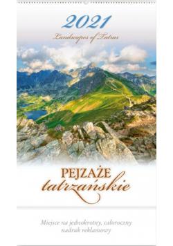 Kalendarz 2021 Reklamowy Pejzaże tatrzańskie RW5