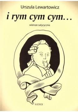 I rym cym cym... Wiersze satyryczne