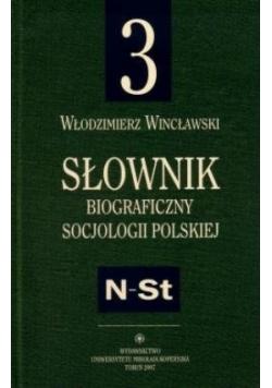 Słownik biograficzny socjologii polskiej Tom 3