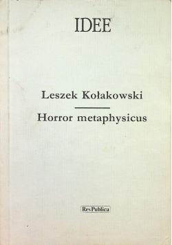 Horror metaphysicus