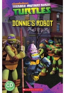 Teenage Mutant Ninja Turtles: Donnie's Robot + CD