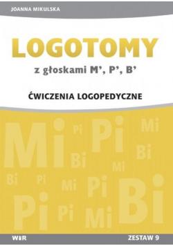 LOGOTOMY z głoskami M, P, B Ćwiczenia logopedyczne
