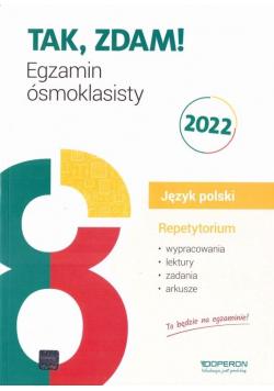 Egzamin ósmoklasisty 2022. J. polski Repetytorium
