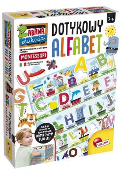 Montessori Plus Dotykowy Alfabet