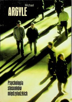 Psychologia stosunków międzynarodowych