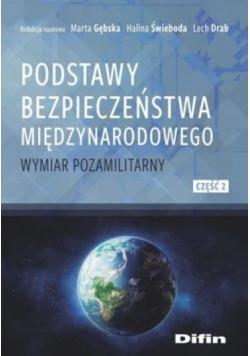 Podstawy bezpieczeństwa międzynarodowego cz.2