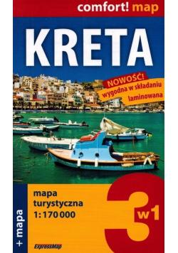 Kreta Mapa turystyczna