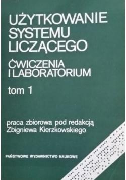 Użytkowanie systemu liczącego tom 1
