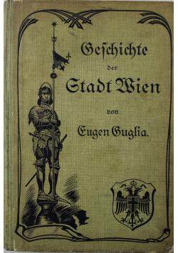 Geschichte der Stadt Wien 1892 r.