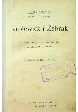 Królewicz i Żebrak 1918 r.