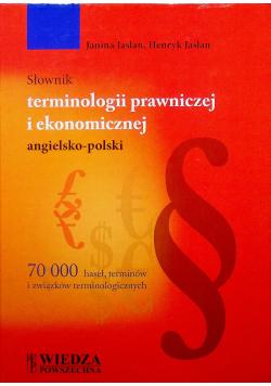 Słownik terminologii prawniczej i ekonomicznej angielsko polski