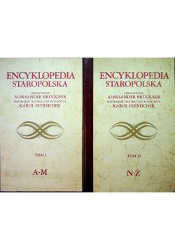 Encyklopedia staropolska 2 tomy