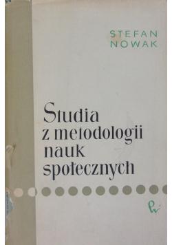Studia z metodologii nauk społecznych