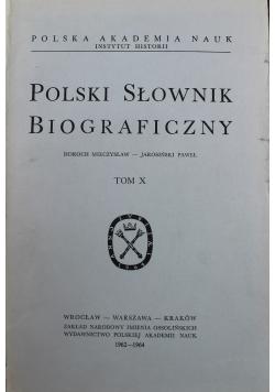 Polski Słownik Biograficzny tom X