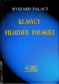 Klasycy Filozofii Polskiej