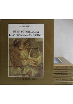 Ilustrowana historia świata 6 tomów