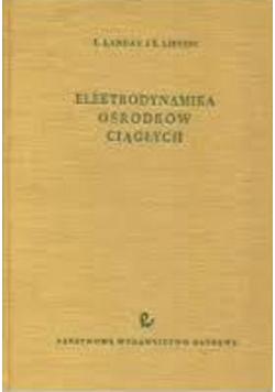 Elektrodynamika ośrodków ciągłych