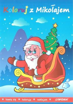 Koloruj z Mikołajem