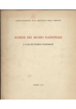 Schede del Museo Nazionale