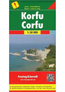 Mapa - Krofu/Corfu 1:50 000