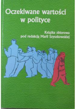Oczekiwane Wartości W Polityce