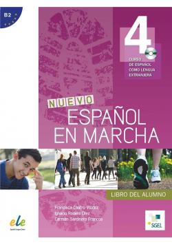 Nuevo Espanol en marcha 4 podręcznik + CD SGEL