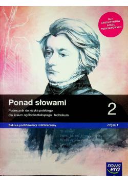 Ponad słowami 2 część 1 Język polski