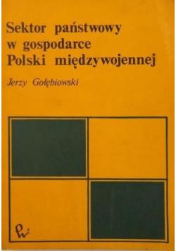 Sektor państwowy w gospodarce Polski międzywojennej